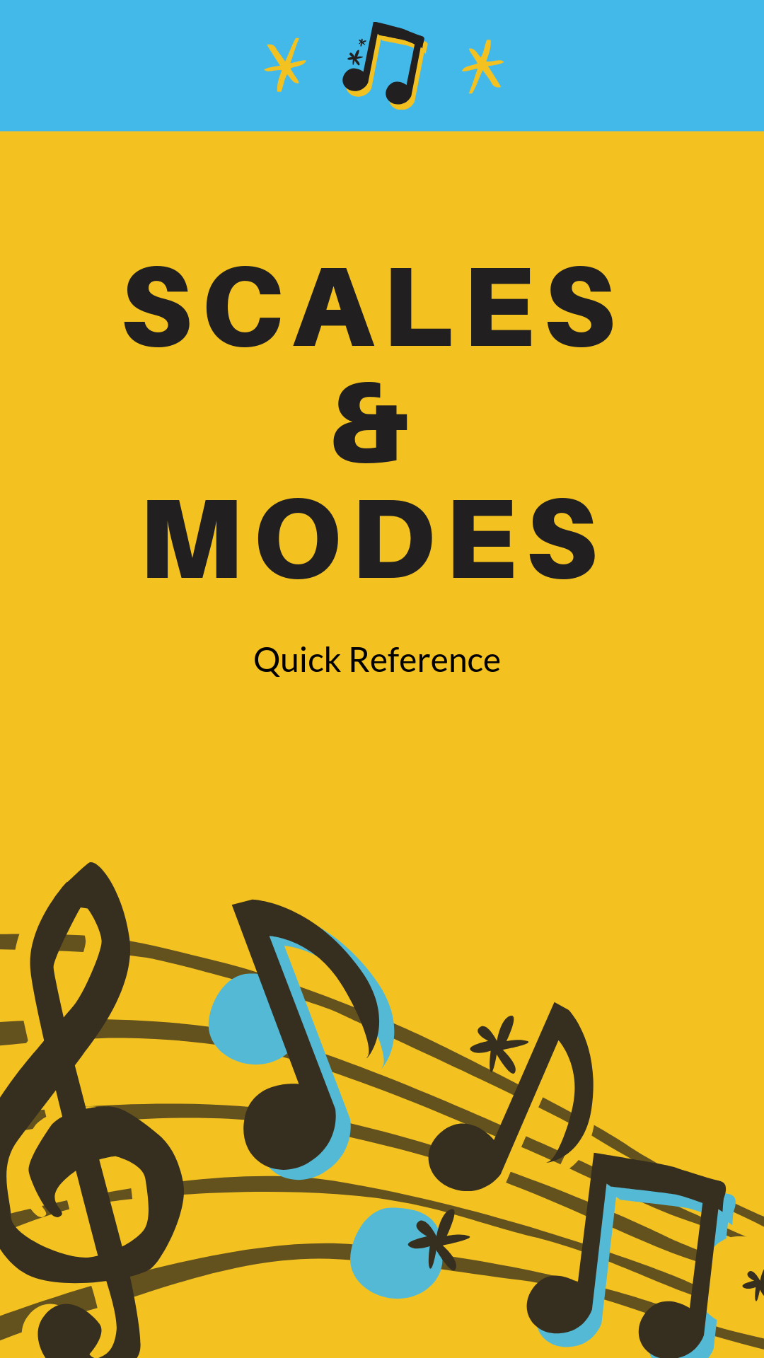 scale and modes